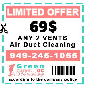 Green Carpet Cleaning - Air Duct Cleaning Coupon