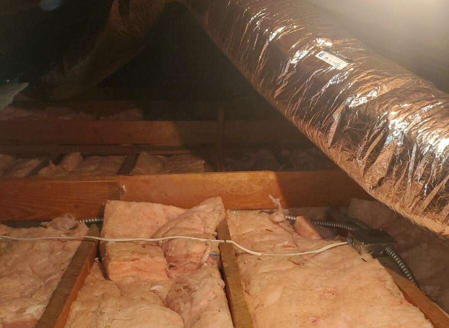 Air Duct Cleaning & Attic Cleaning Service.